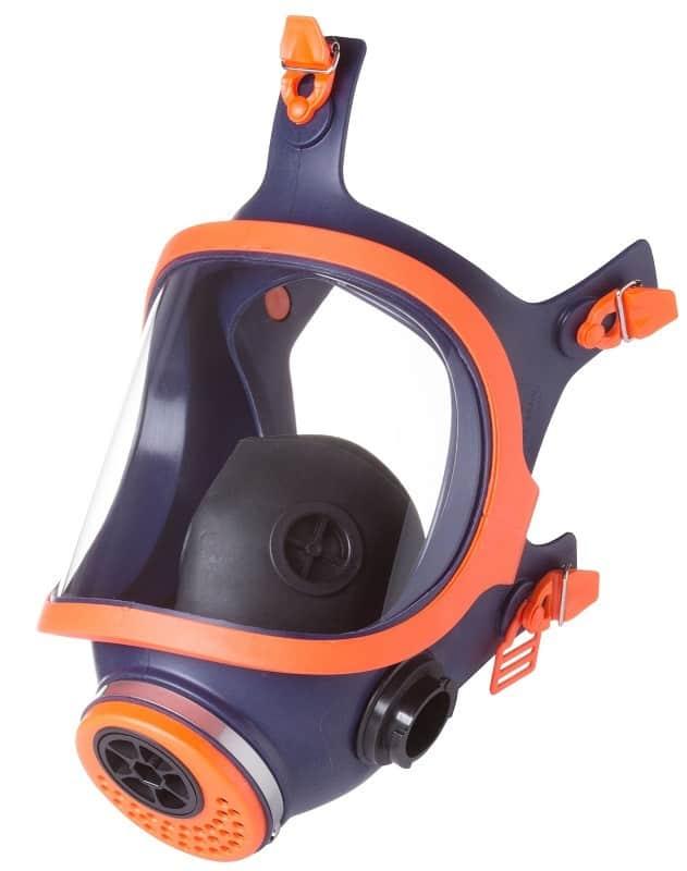 Mascara facial protección respiratoria full face de silicona Mod. 732-N