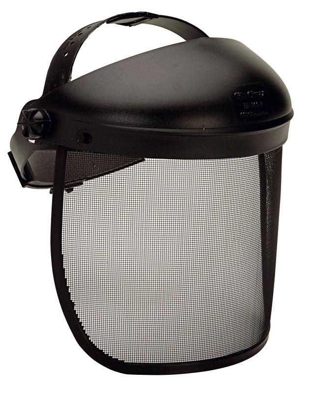 Pantalla de protección facial con malla metálica frente a partículas grandes Mod. 425