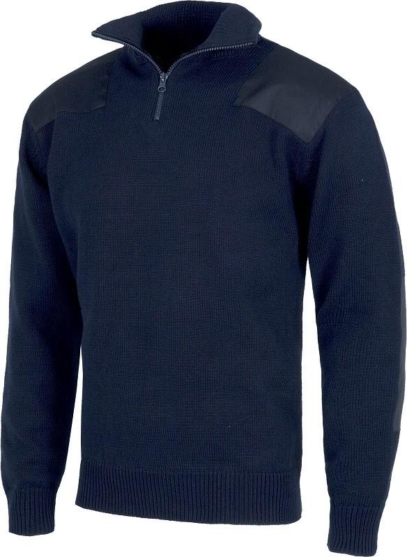 Jersey 100% Algodón de trabajo con refuerzo en codos y hombros.