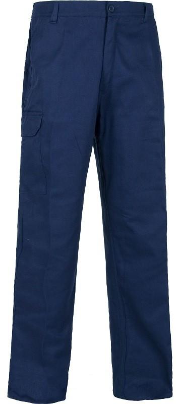 Pantalón de trabajo Algodón 100% con cintura elástica.