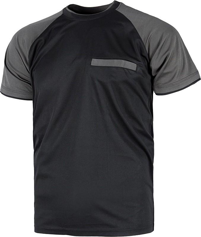 Camiseta de trabajo Técnica de manga corta, ligera y de secado rápido.