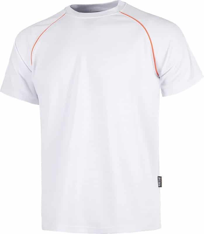 Camiseta de trabajo apta para Servicios en tejido técnico.