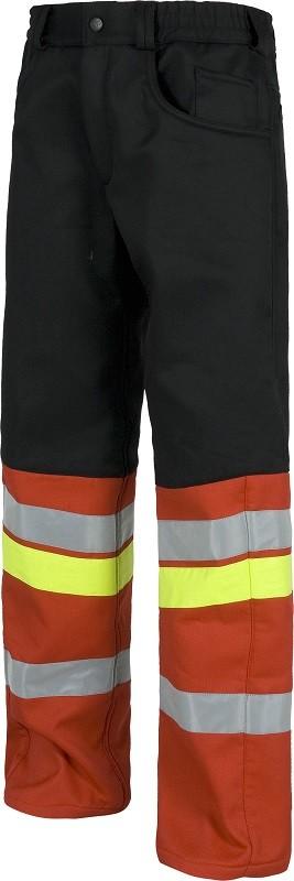 Pantalón contra frío de trabajo con colores Combinados y 3 bandas reflactantes.