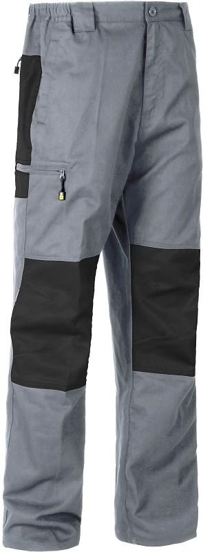 Pantalón de trabajo combinado con Rodilleras y Culera a contraste.