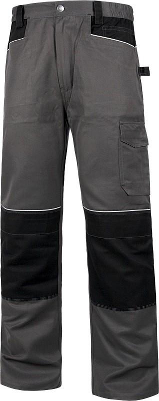 Pantalón Reforzado de trabajo Combinado y cosido con Triple costura.
