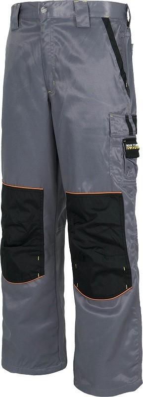 Pantalón Antimanchas de trabajo, reforzado y cosido con triple costura.