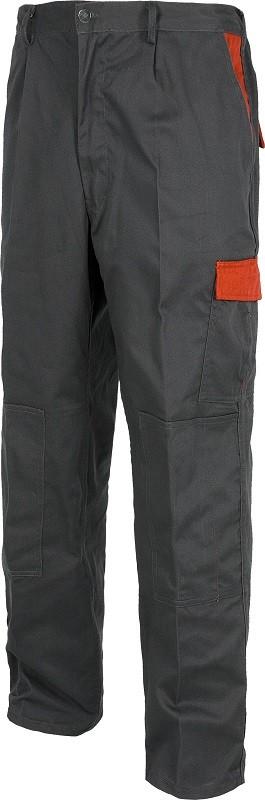 Pantalón de alta resistencia con colores combinados y reforzado.