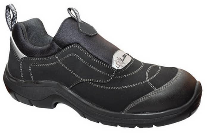 Calzado Laboral con Puntera y Plantilla de Seguridad Sin Cordones Deportivo Extracomodo Ligero y Muy Flexible.